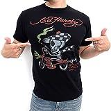 (エドハーディー) Ed Hardyバイク ドクロ 半袖 Tシャツ