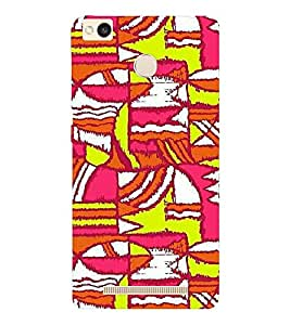 EPICCASE Colurful madness Mobile Back Case Cover For Xiaomi Redmi 3S (Designer Case)