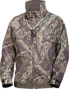 Drake Men's MST Waterfowl Fleece-lined Full Zip 2.0 (Shadowbranch, X-Large)