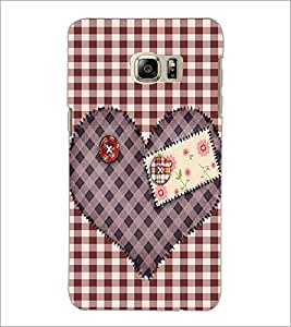 PrintDhaba Heart D-2258 Back Case Cover for SAMSUNG GALAXY NOTE 5 EDGE (Multi-Coloured)