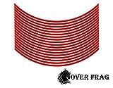 OverFrag ホイールリムステッカー ホイール4本分セット 17インチ 18インチ 対応