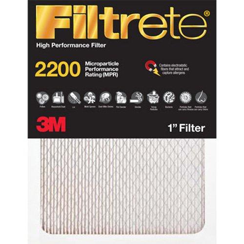 Filtrete EA22-2PK-1 Elite Allergen Reduction Filters, 2200 MPR, 20 x 30 x 1, 2-Pack