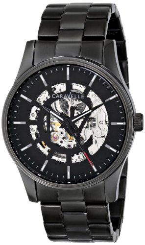 Caravelle by Bulova Dress Analog Champagne Dial Men's Watch - 45A121