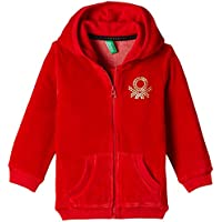 United Colors of Benetton Baby Girls' Sweater (15A3UK0C5098G03A_Barbadoss Cherry_0Y)
