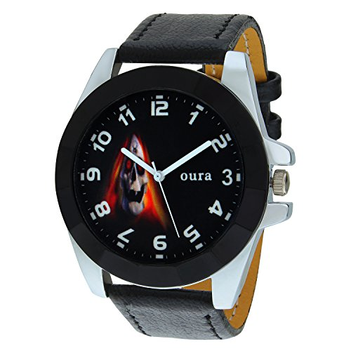 Oura Round Multicolor Dial Designer Casual Wear Watch For Men