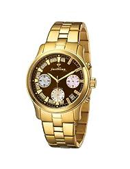 "JBW-Just Bling Women's JB-6217-G ""Alessandra"" Gold-Tone Chronograph Diamond Watch"