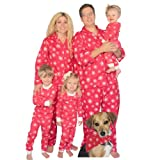 Red Snowflakes Family Matching Flannel Pajamas by SleepytimePjs (2T)
