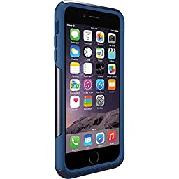OtterBox COMMUTER iPhone 6 Plus/6s Plus Case - Frustration-Free Packaging - INK BLUE (ADMIRAL BLUE/DEEP WATER)
