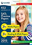 J. Geake KS2 SATs Practice Papers (English Reading, SPaG & Maths) for the 2015 Y6 SATs Tests. Inc. Audio & Online Marks Compare