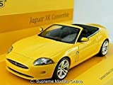 Jaguar Xk Car Model Xkr Xk8 1/43 Scale Convertible Packaged Yellow Iss K8967Q