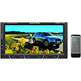 SoundBoss 2Din Bluetooth Car Video Player 7'' HD Touch Screen Stereo Radio FM/MP3/MP4/MP5/Audio/USB/TF/AUX/REAR...