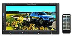 SoundBoss 2Din Bluetooth Car Video Player 7'' HD Touch Screen Stereo Radio FM/MP3/MP4/MP5/Audio/USB/TF/AUX/REAR VIEW CAMERA Connectivity