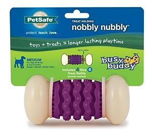 PetSafe Busy Buddy Nobbly Nubbly Dog Toy, Medium
