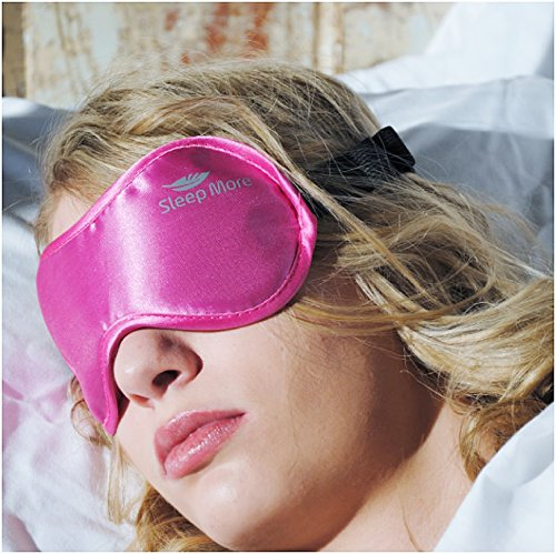 sleep-more-small-med-size-sleeping-mask-for-men-or-women-with-free-one-bag-a-pink-satin-natural-rest