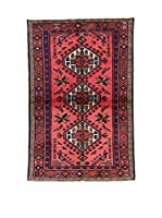 L'Eden del Tappeto Alfombra Hamadan Rojo / Multicolor 98 x 149 cm