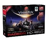 VisionTek ATI Radeon HD 4850 512 MB GDDR3 PCI Express Graphics Card 900241