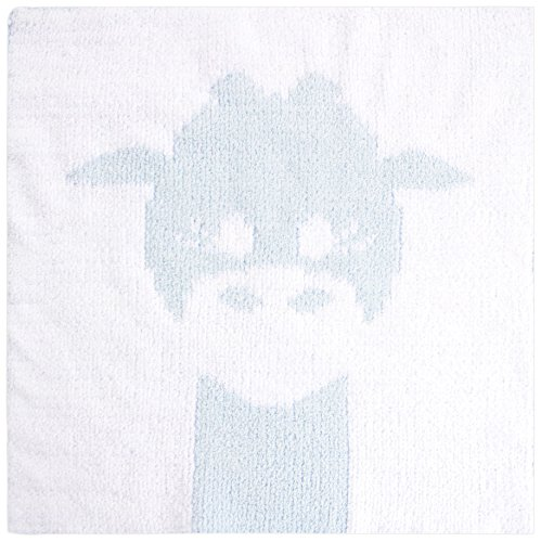 Little Giraffe Cloud Knit Blanky, Blue