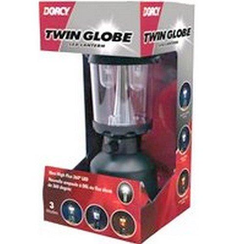Nib 2/Pack Dorcy 41-3108 41-3108 Twin Globe Led Lantern Auth Dealer
