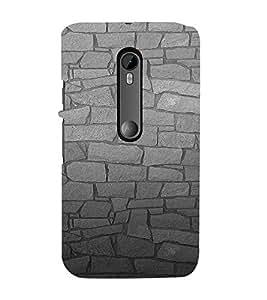EPICCASE Granite Wall Mobile Back Case Cover For Moto X Force (Designer Case)