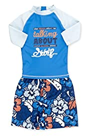 Safe in the Sun Rash Vest & Shorts Swimsuit