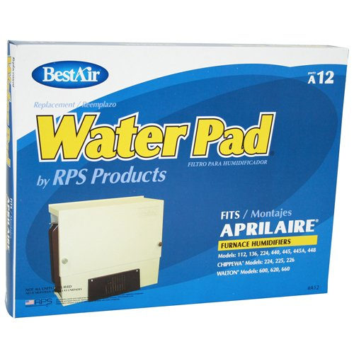 BestAir A12-6 Aprilaire 12 Metal Waterpad - 1