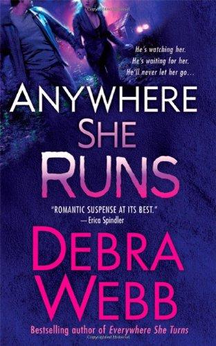 book cover of Anywhere She Runs