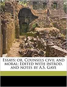 essays or counsels civil