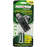Rayovac Everyday-Use 2 Position USB Charger, PS19-2B GEN