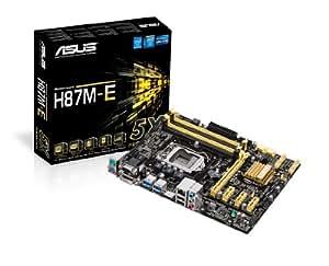 Asus Micro ATX DDR3 1333 LGA 1150 Motherboard H87M-E
