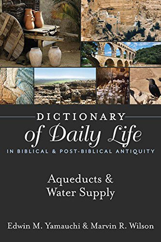 Dictionary of Daily Life in Biblical & Post-Biblical Antiquity: Aqueducts & Water Supply (Dictionary of Daily Life in Biblical and Post-Biblical Antiquity) PDF