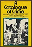 A Catalogue of Crime (0060102632) by Barzun, Jacques