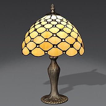 3 abat jour avec des bourgeons bourgeons lampe de table de nuit en en verre style tiffany. Black Bedroom Furniture Sets. Home Design Ideas