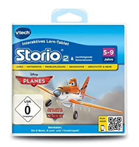 VTech 80-231804 - Storio 2 Lernspiel Planes