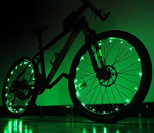 Soondar® 20-LED Waterproof Bike Wheel Lights Bicycle Spoke Lights