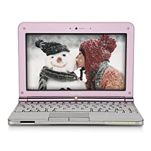 Toshiba Mini NB205-N325PK 10.1-Inch Posh Pink Netbook - 9 Hours of Battery Life (Windows 7 Starter)