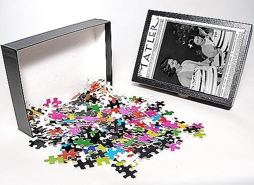 Photo Jigsaw Puzzle Of The Not Forgotten Royal Tea Party, 1937