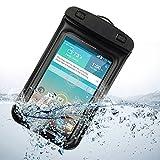Universal Waterproof case Carrying Bag for LG G3 LG-F400 32GB / LG G2 (Verizon Wireless AT&T Sprint) (Black)