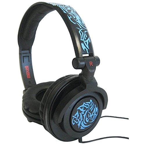 Maxell Amp-B Amplified Heavy Bass Headphone - Blue (190265)