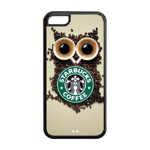 Custom Mobile Phone Shell Starbucks Coffee Case For Iphone 5C Cases
