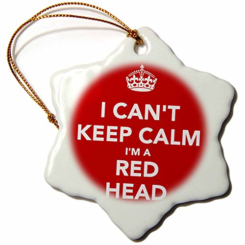 3drose-evadane-quotes-i-cant-keep-calm-im-a-red-head-red-3-inch-snowflake-porcelain-ornament-orn-222
