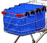 Hannah Grocery Cart Bag, Sky Blue