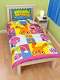 Moshi Monsters Single Duvet Cover - Official Moshy Reversible Bed Linen