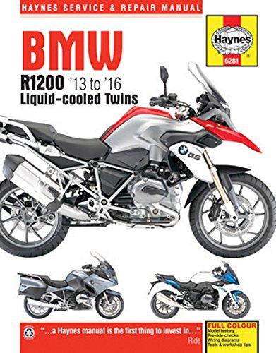 BMW R1200 '13 to '16 Liquid-Cooled Twins (Haynes Service & Repair Manual)