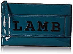 L.A.M.B. Issa Bag, Teal, One Size