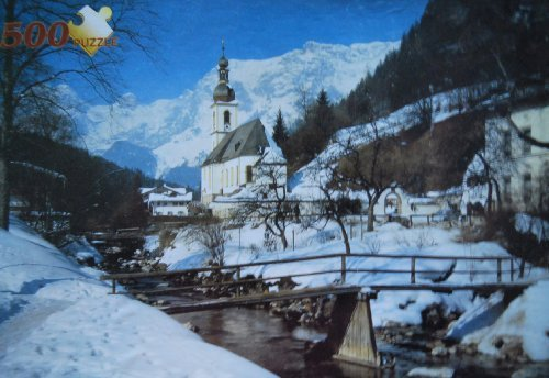Ramsau Germany - 500 Piece Jigsaw Puzzle (Import) - 1