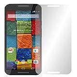 2 x Slabo pellicola protettiva per display Motorola Moto X1 protezione display Crystal Clear invisibile MADE...