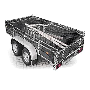 Amazon.com: Relaxdays Elastic Stretch Trailer Net Load Protection Net