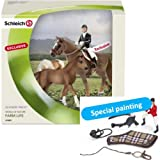 Scenery Pack Show Jumping (Set of Horse, Foal, Rider and Tack)
