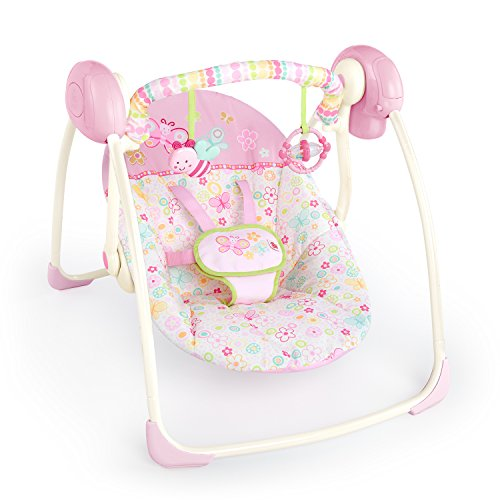 Bright Starts Portable Swing, Flutter Dot