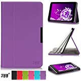 Lenovo Idea Tab A8-50 8 Inch Case Cover, FYY® Slim Fit Folio Stand Leather Case Cover for Lenovo Idea Tab A8-50 8 Inch Purple